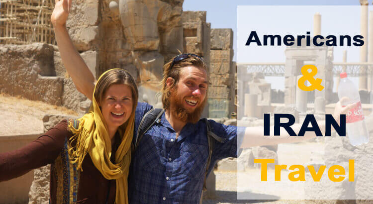 amercians and iran travel